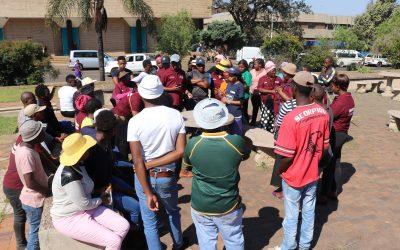 Emalahleni informal communities cluster make submission to municipal draft IDP