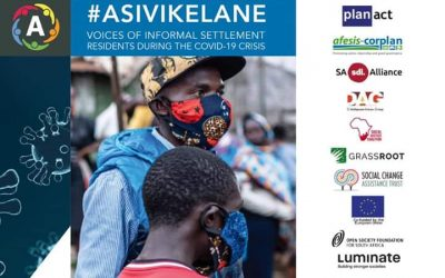 [Press Release] Asivikelane voices of informal settlement during the covid-19 crisis