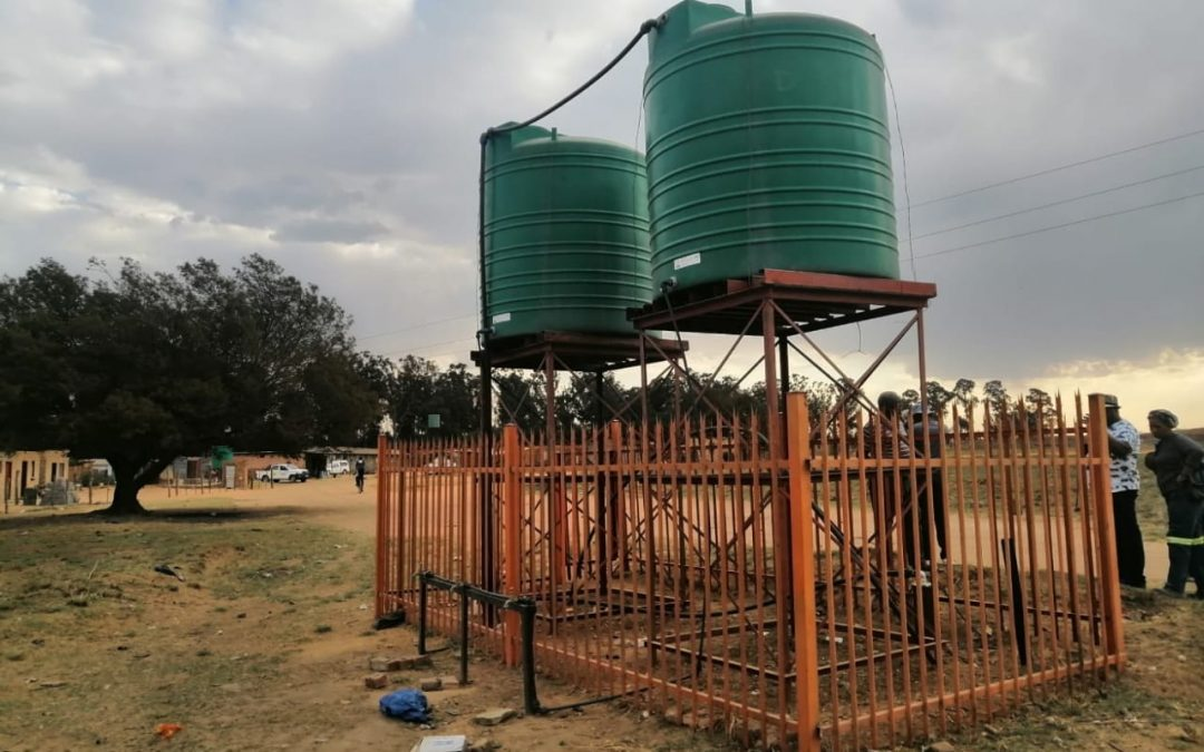 Water Services Provided to Informal Settlements in Emalahleni Local Municipality