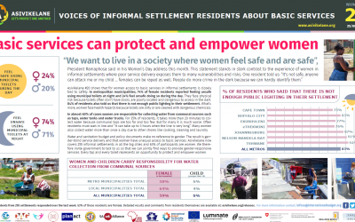 Basic services can protect and empower women